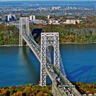 view of the George Washington Bridge